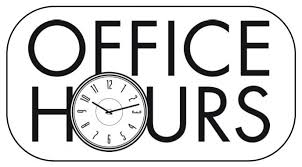 ACMS Office Hours/Attendance Number