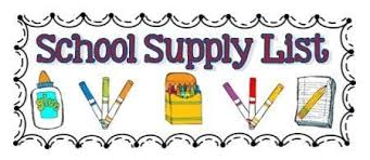 ACMS 2019-20 Student Supply List