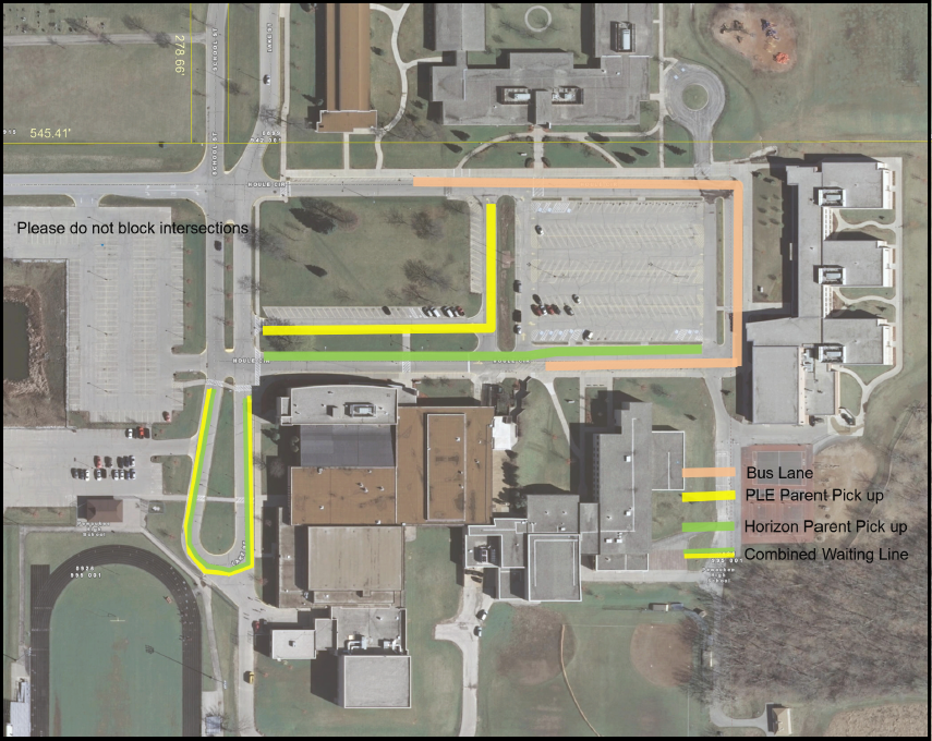 Pewaukee Campus Traffic Flow