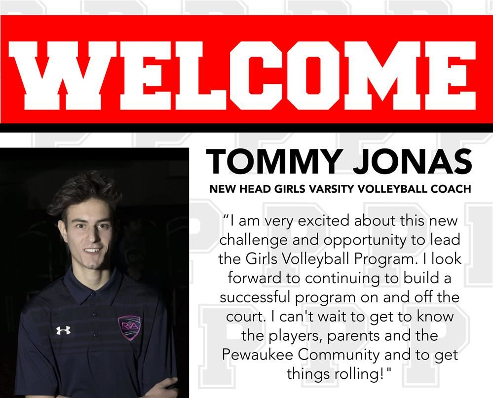 PEWAUKEE HIRES TOMMY JONAS AS NEW HEAD VARSITY GIRLS VOLLEYBALL COACH