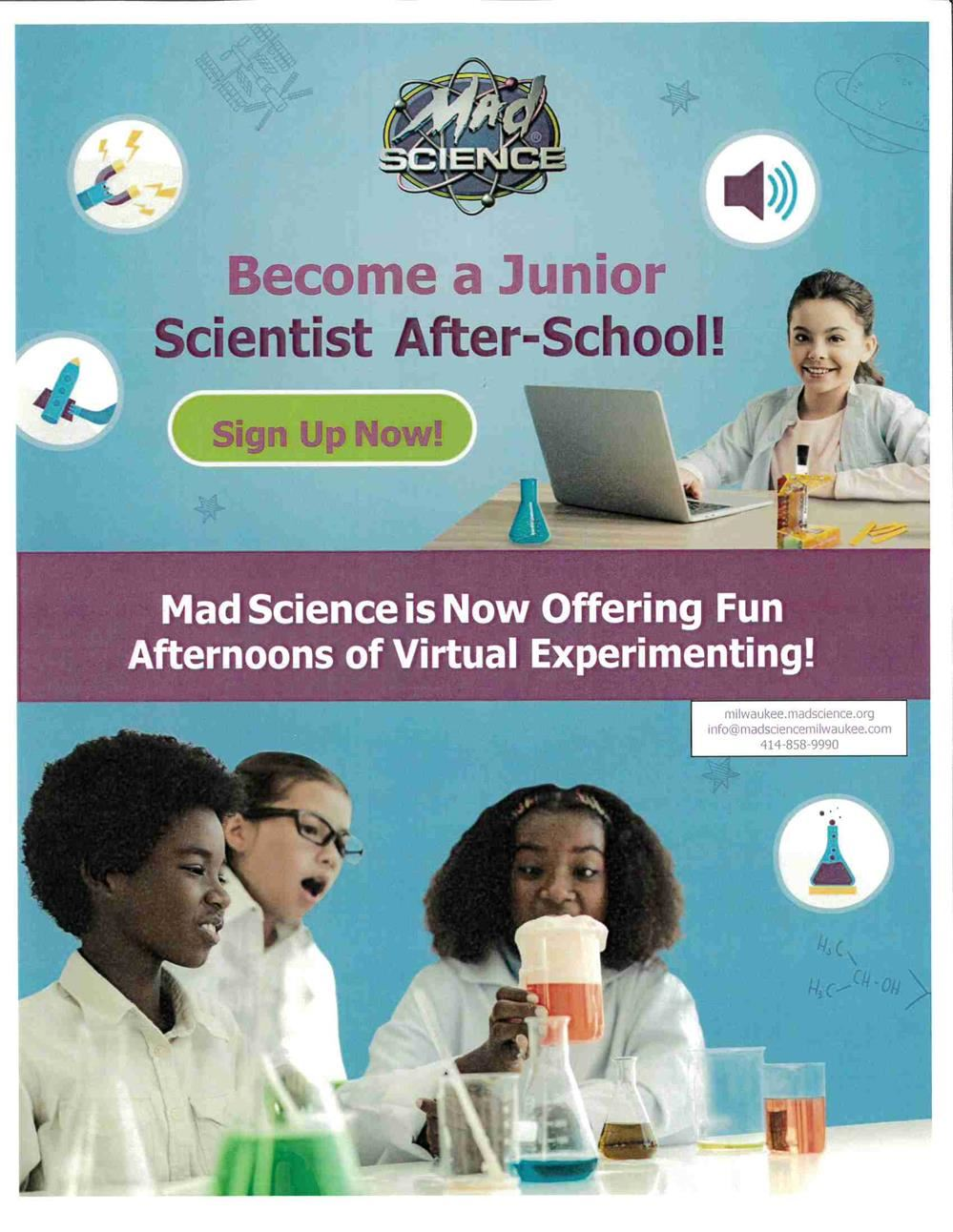 Mad Science fun at home!